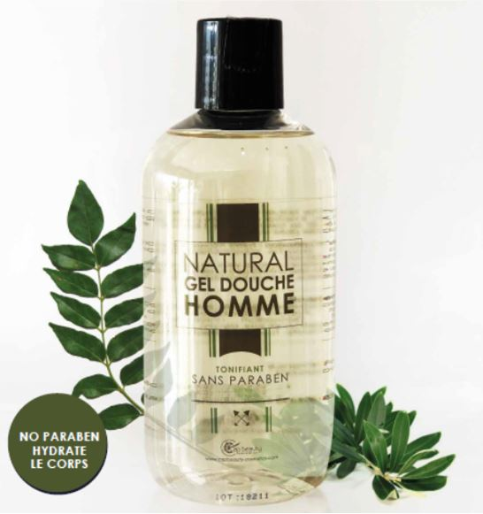 NATURAL GEL DOUCHE HOMME